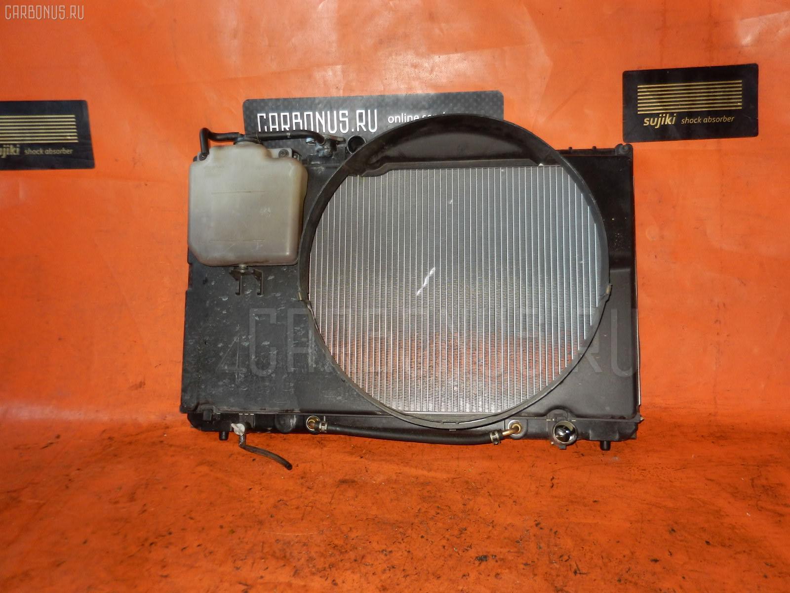 Радиатор ДВС TOYOTA CRESTA GX90 1G-FE. Фото 8