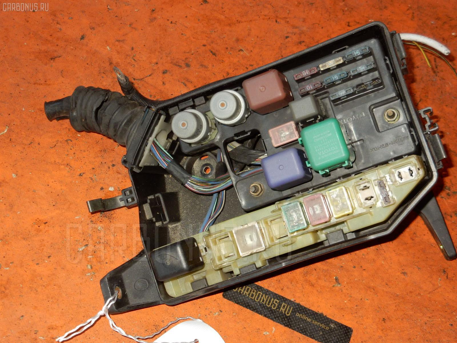 Блок предохранителей TOYOTA CRESTA GX90 1G-FE. Фото 11
