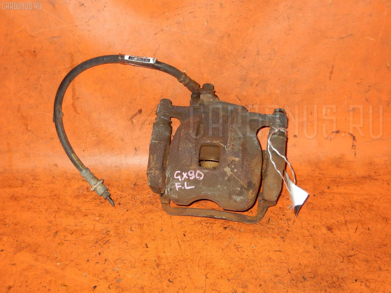 Суппорт TOYOTA CRESTA GX90 1G-FE. Фото 5