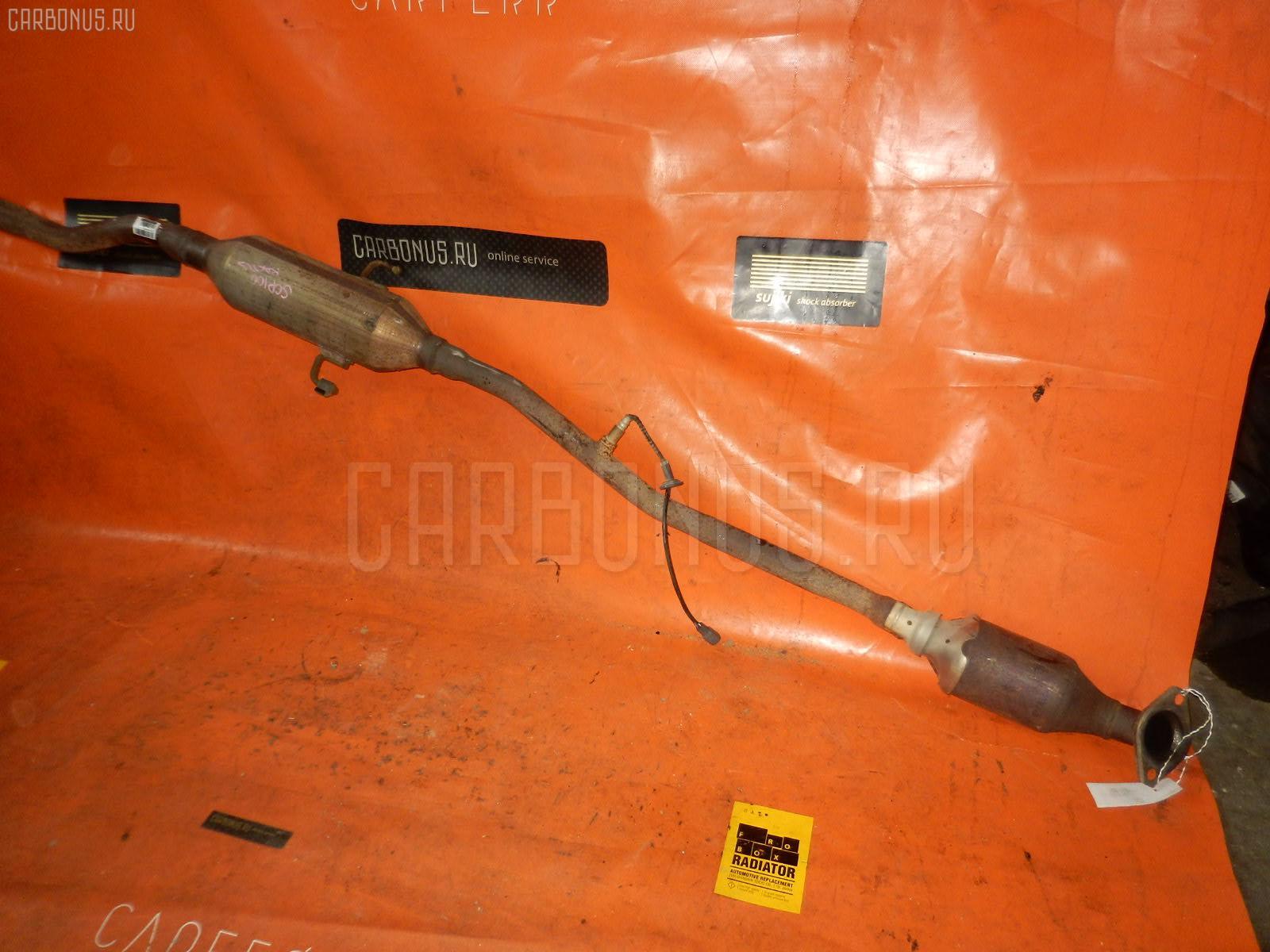 Глушитель TOYOTA RACTIS SCP100 2SZ-FE. Фото 3