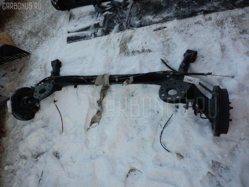 Балка подвески TOYOTA RACTIS SCP100 2SZ-FE Фото 1