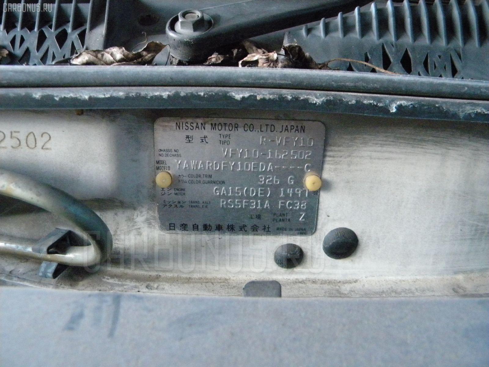 Радиатор печки NISSAN AD WAGON VFY10 GA15 Фото 3
