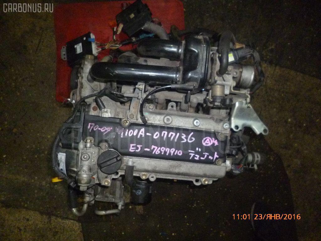 Двигатель TOYOTA DUET M100A EJ-VE Фото 11