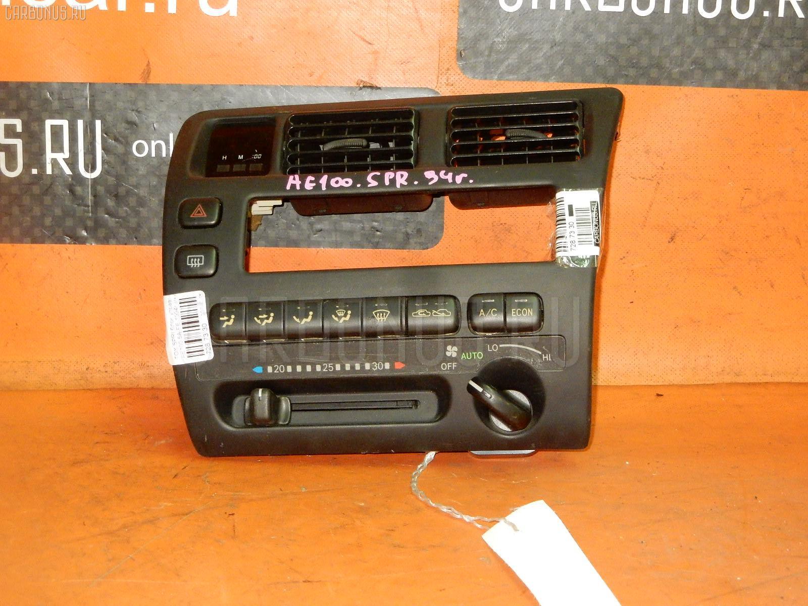 Блок управления климатконтроля TOYOTA SPRINTER AE100 5A-FE. Фото 6