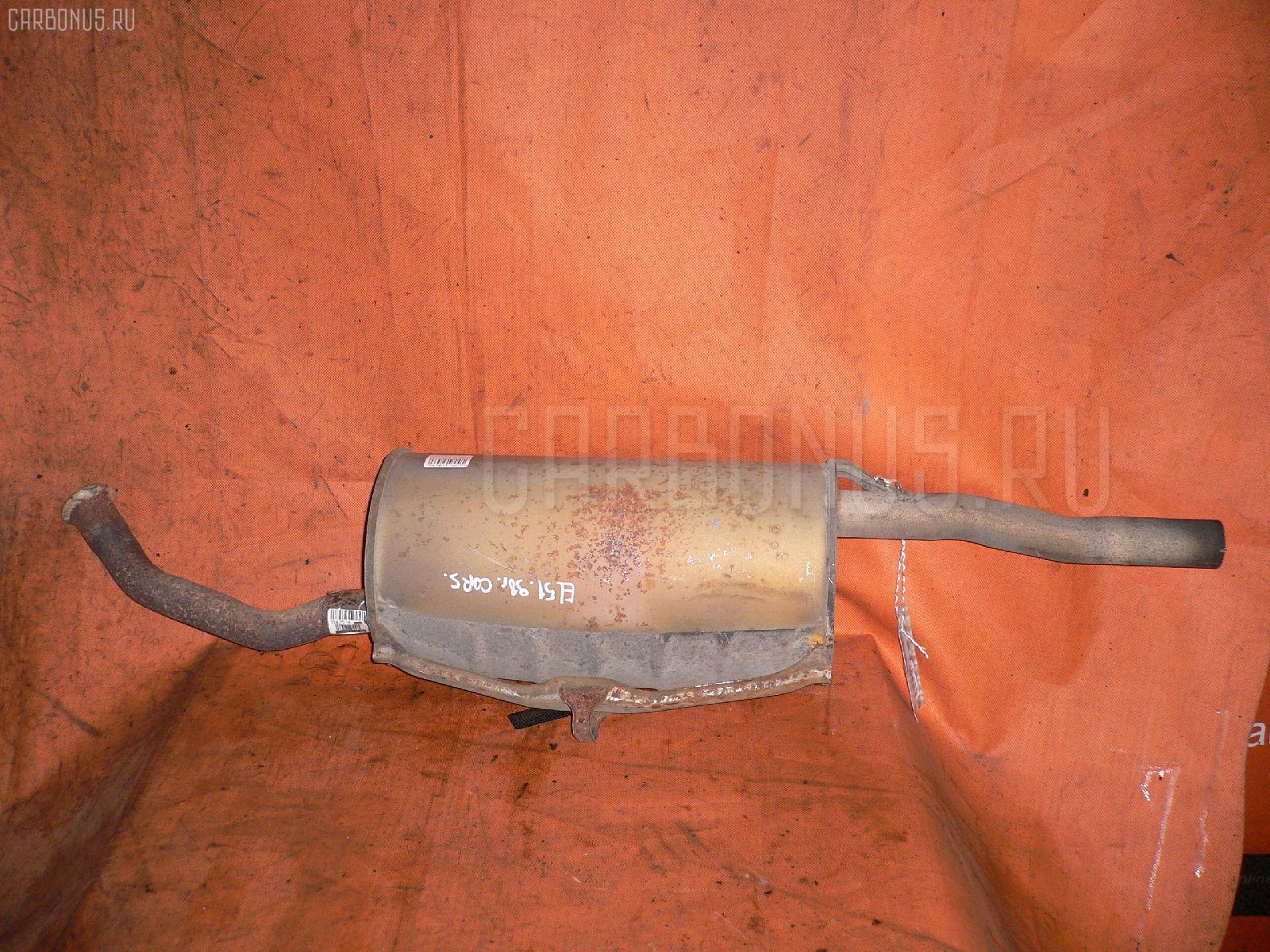 Глушитель TOYOTA CORSA EL51 4E-FE. Фото 5