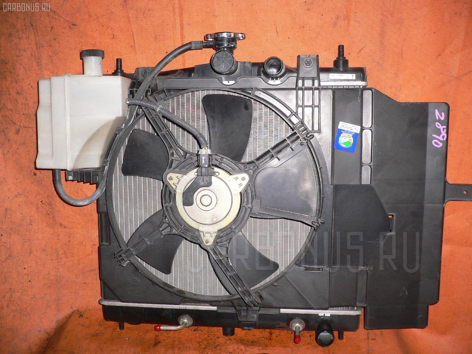 Радиатор ДВС NISSAN MARCH BK12 CR14DE. Фото 11