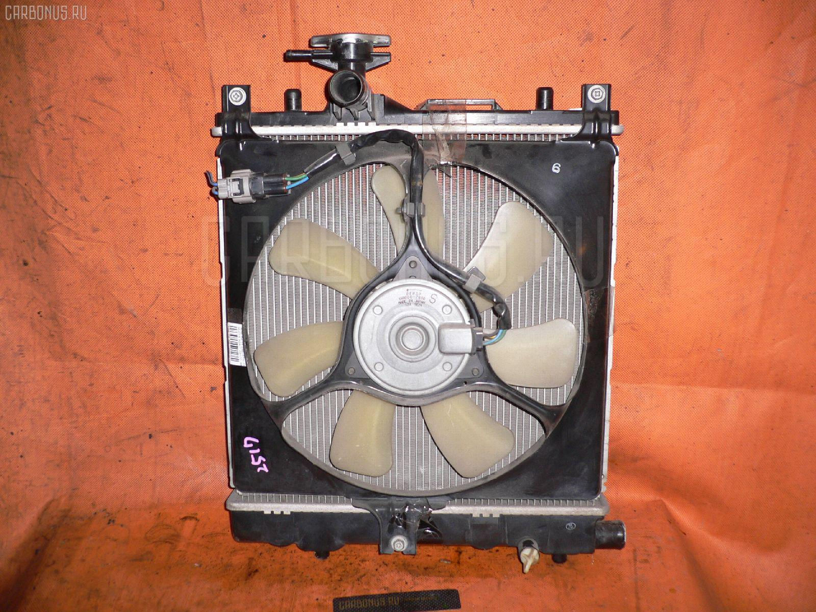 Радиатор ДВС MAZDA AZ-WAGON MJ21S K6A-T Фото 1