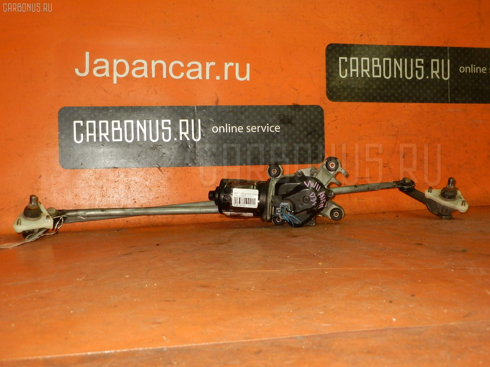 Мотор привода дворников NISSAN EXPERT VW11. Фото 1