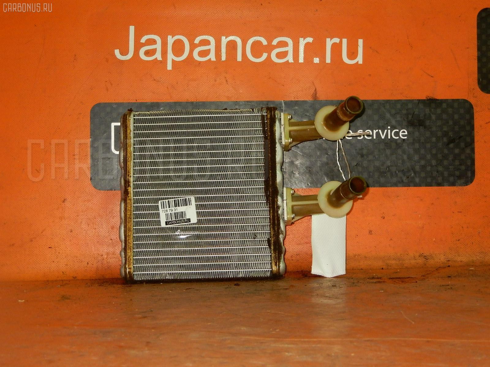 Радиатор печки NISSAN LAUREL HC35 RB20DE. Фото 4