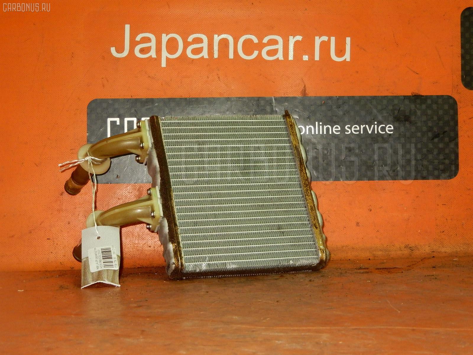 Радиатор печки NISSAN LAUREL HC35 RB20DE. Фото 3
