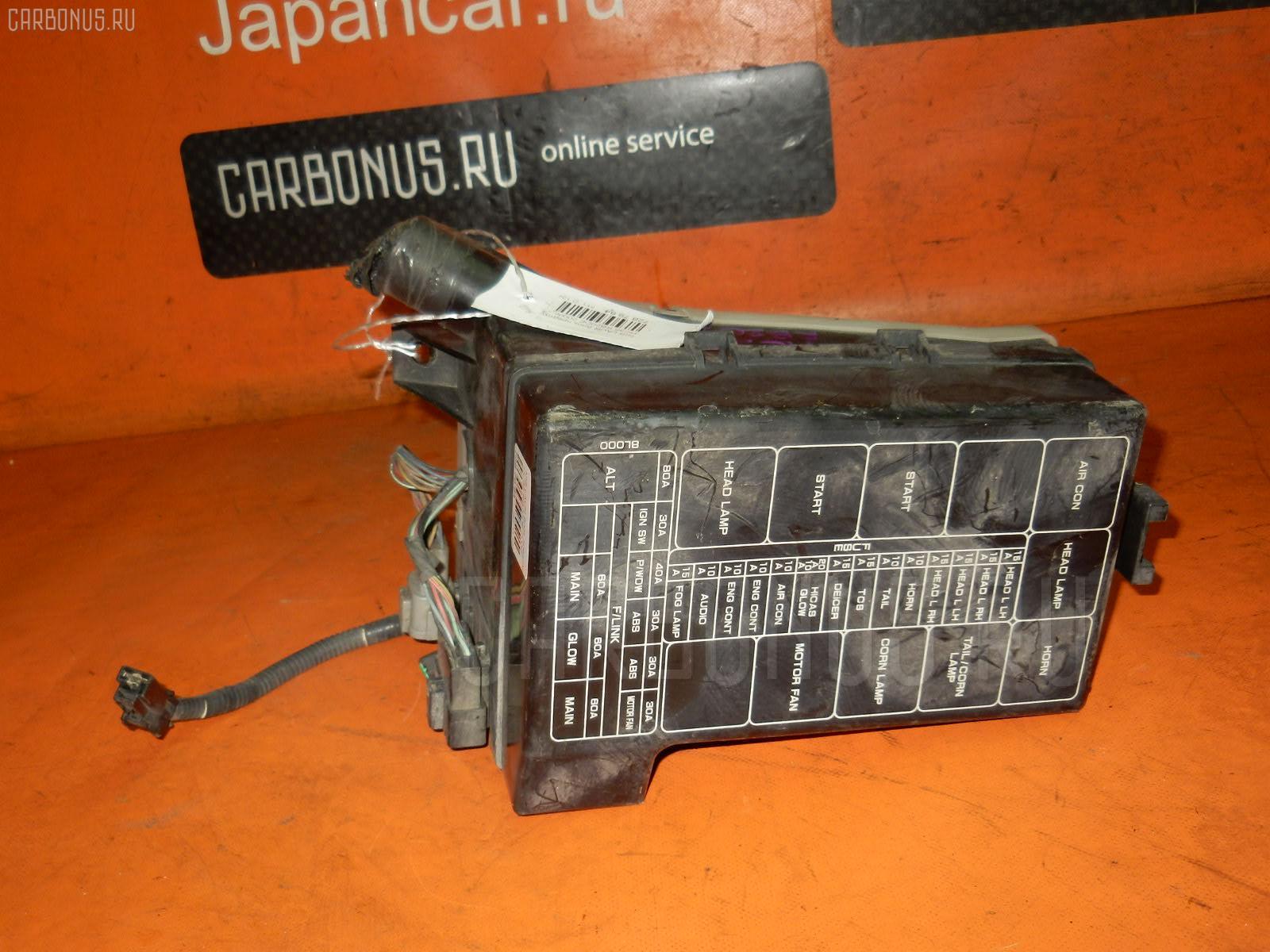 Блок предохранителей NISSAN LAUREL HC35 RB20DE. Фото 4