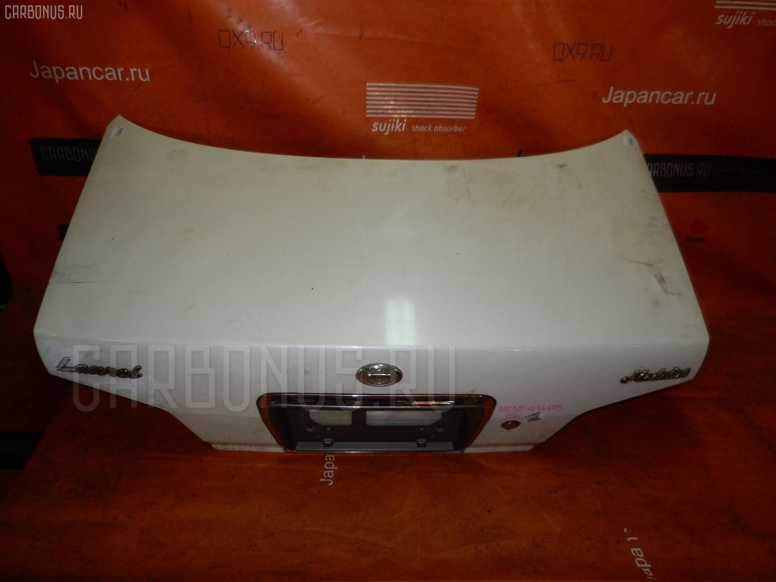 Крышка багажника NISSAN LAUREL HC35. Фото 3