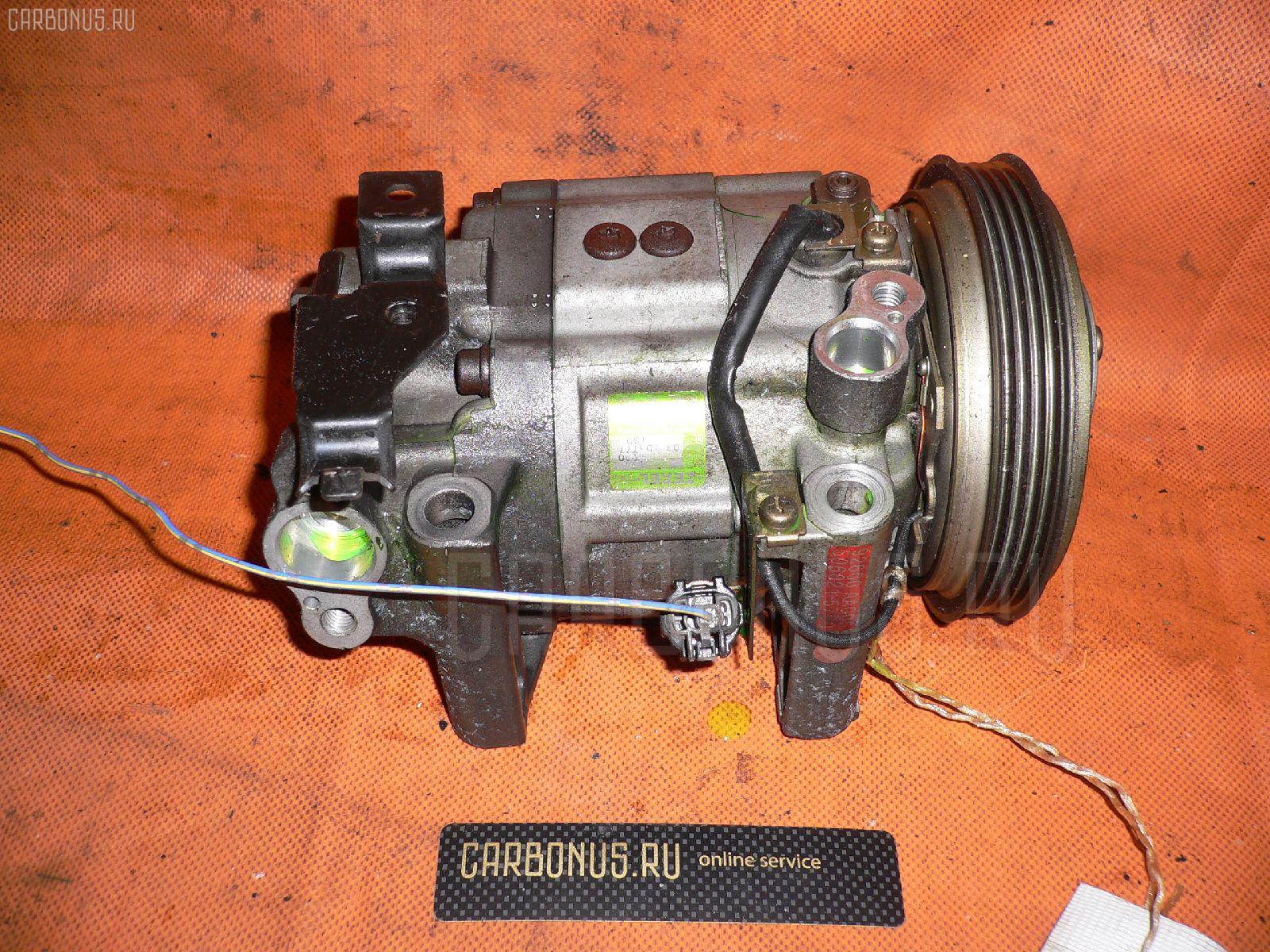 Компрессор кондиционера NISSAN LAUREL HC35 RB20DE. Фото 2