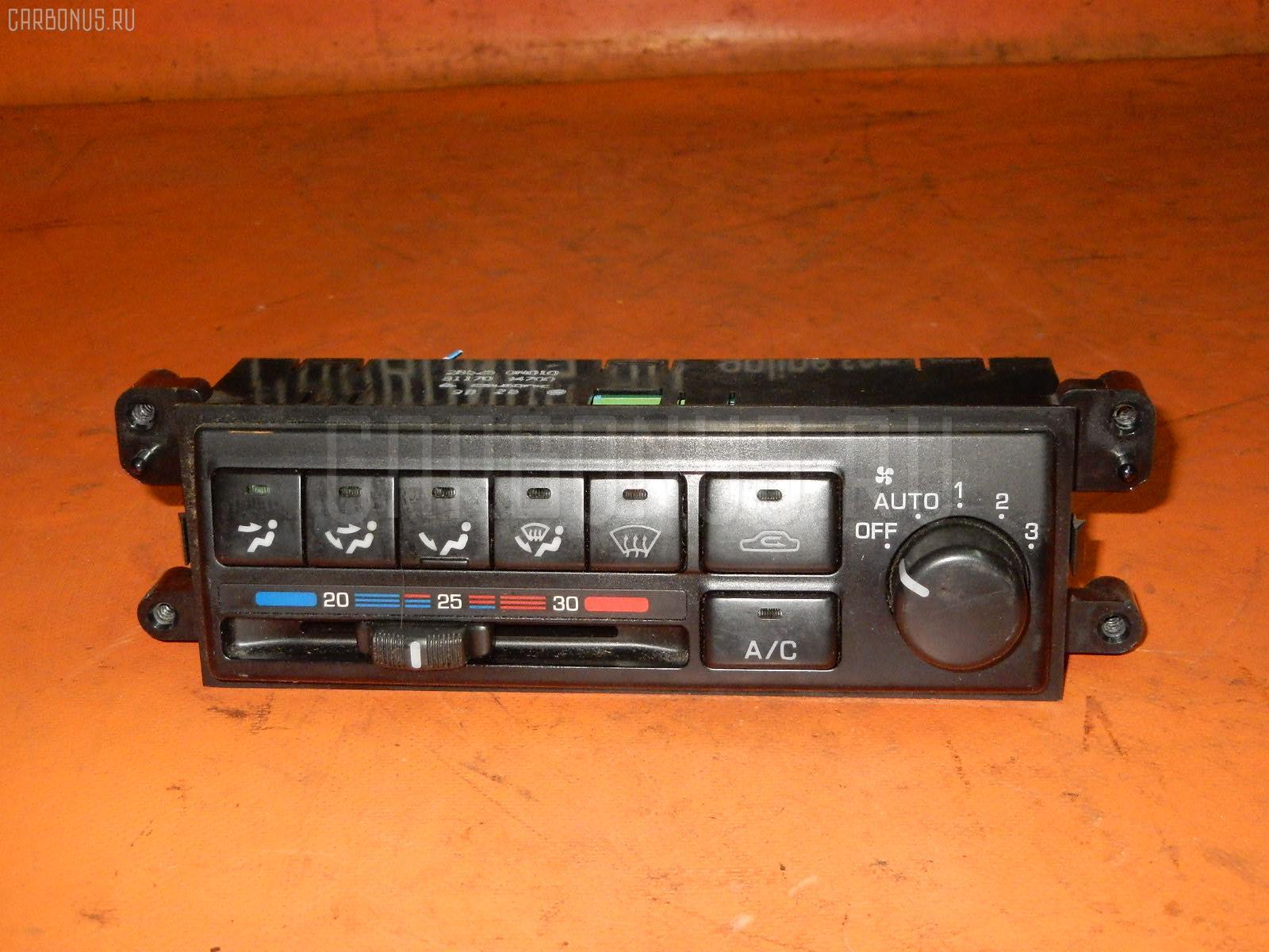 Блок управления климатконтроля NISSAN PULSAR FN15 GA15DE. Фото 9