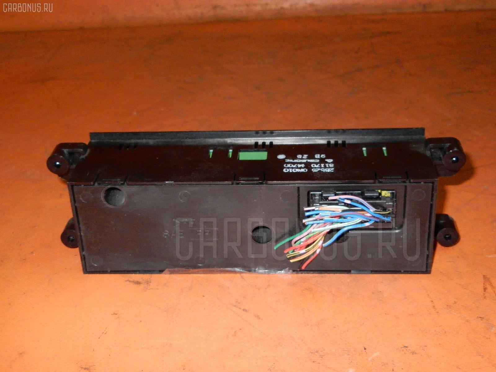 Блок управления климатконтроля NISSAN PULSAR FN15 GA15DE. Фото 8