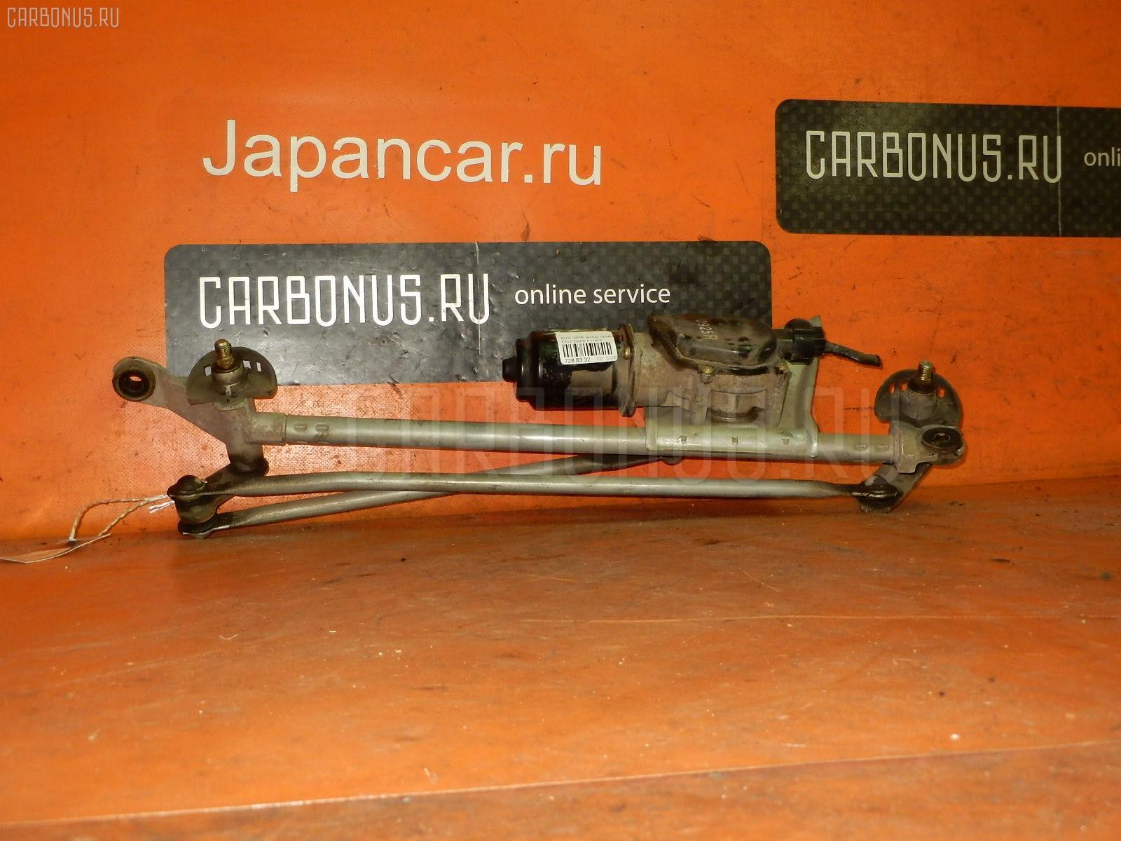 Мотор привода дворников SUBARU IMPREZA WAGON GG2. Фото 7