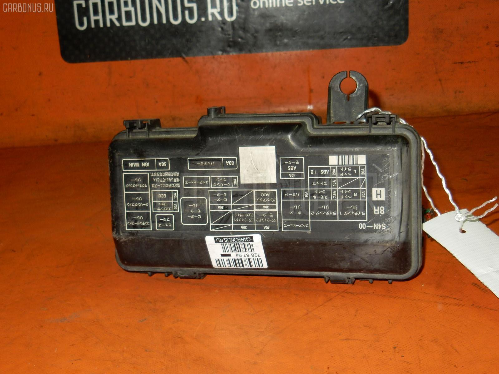 Блок предохранителей HONDA HR-V GH3 D16A. Фото 3