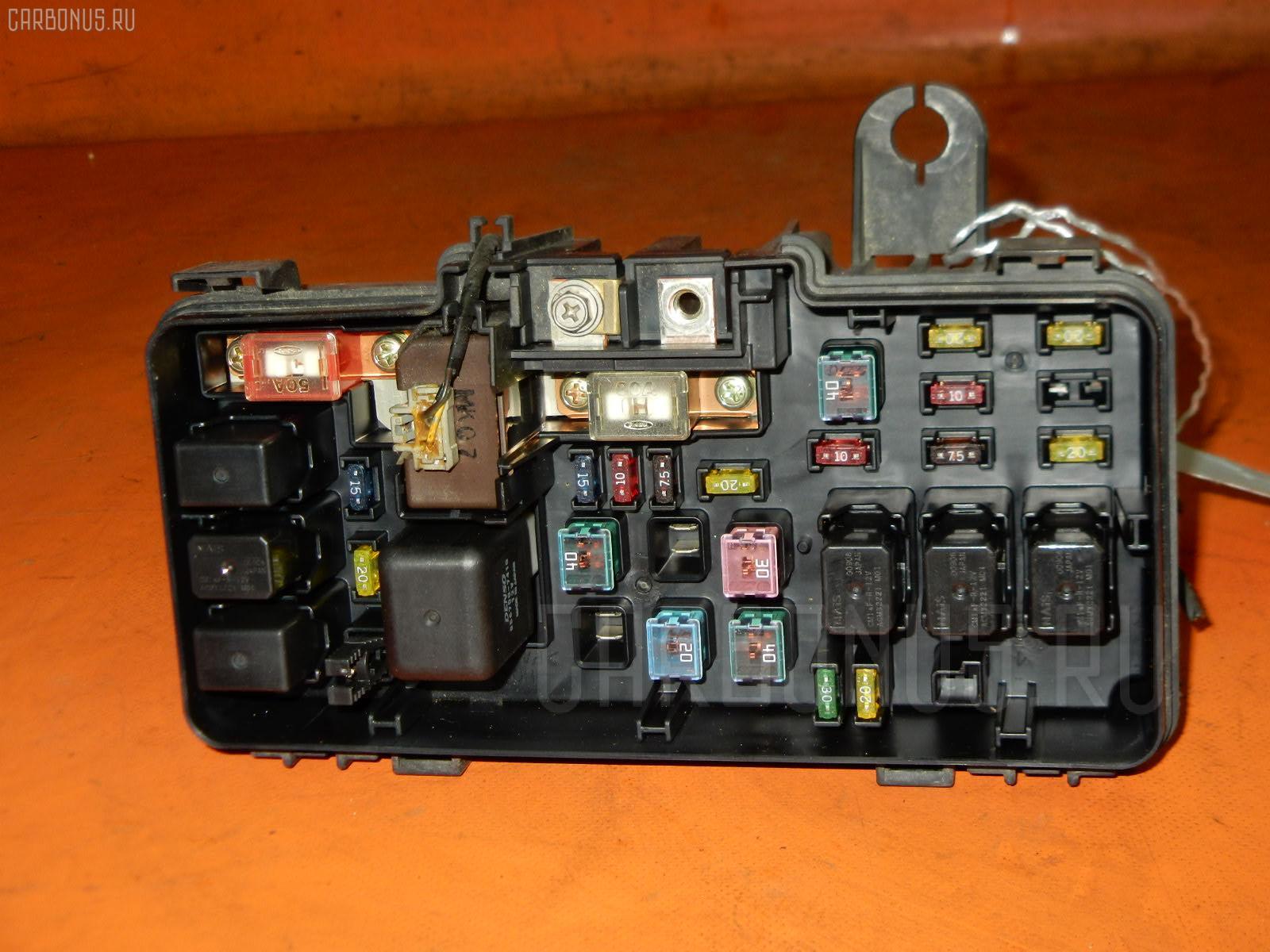 Блок предохранителей HONDA HR-V GH3 D16A. Фото 4