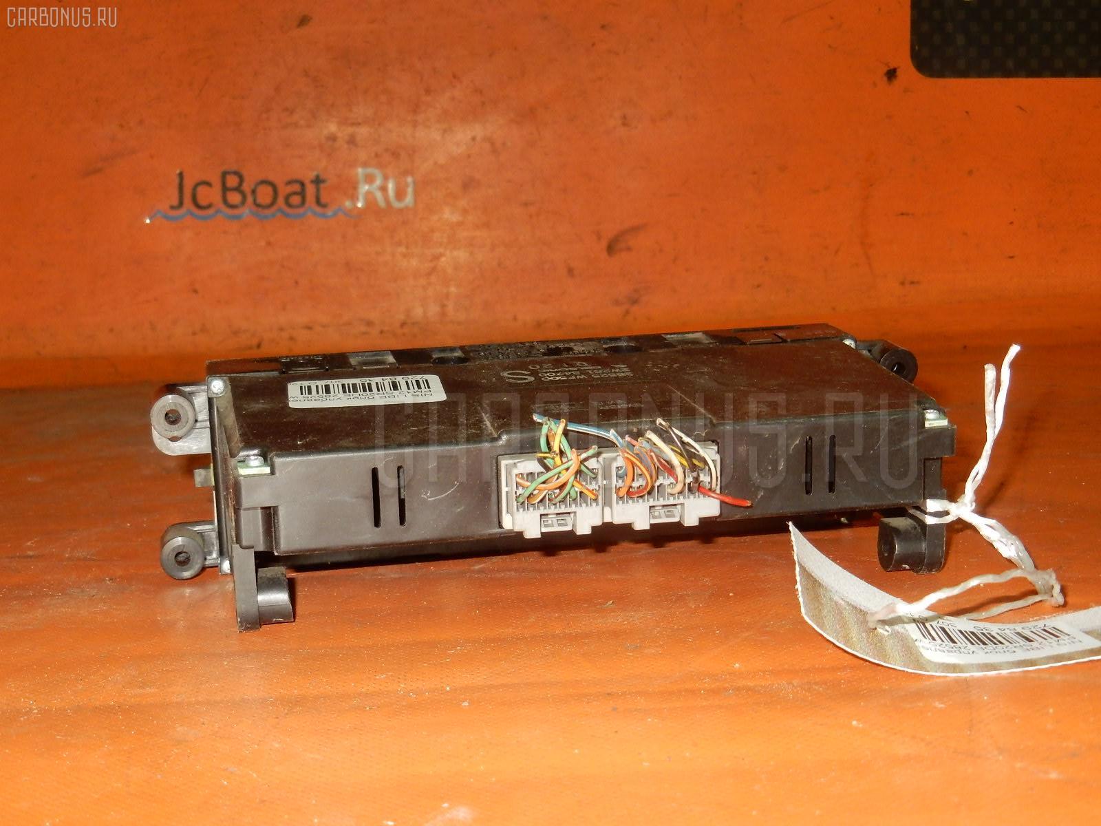 Блок управления климатконтроля NISSAN LIBERTY PM12 SR20DE. Фото 3