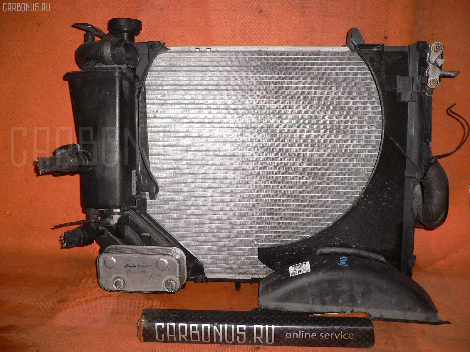 Радиатор ДВС BMW 3-SERIES E46-AV12 M54-226S1 Фото 1
