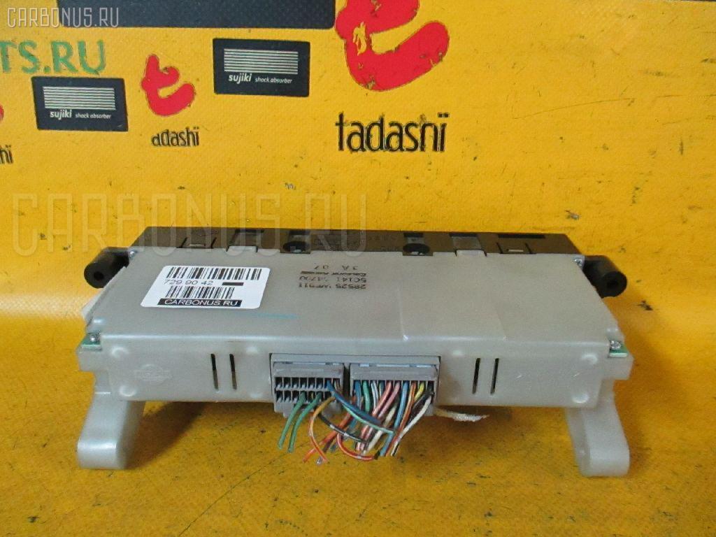 Блок управления климатконтроля NISSAN LIBERTY PM12 SR20DE. Фото 5
