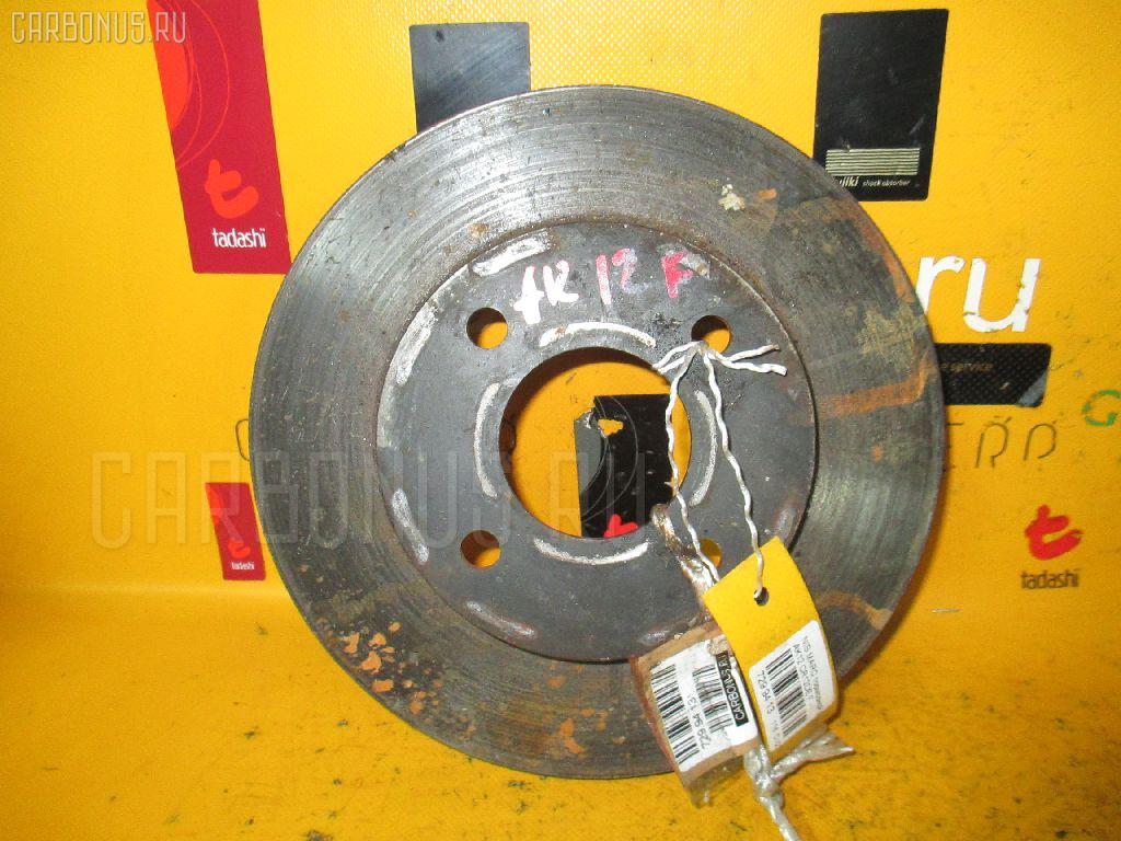 Тормозной диск Nissan March AK12 CR12DE Фото 1