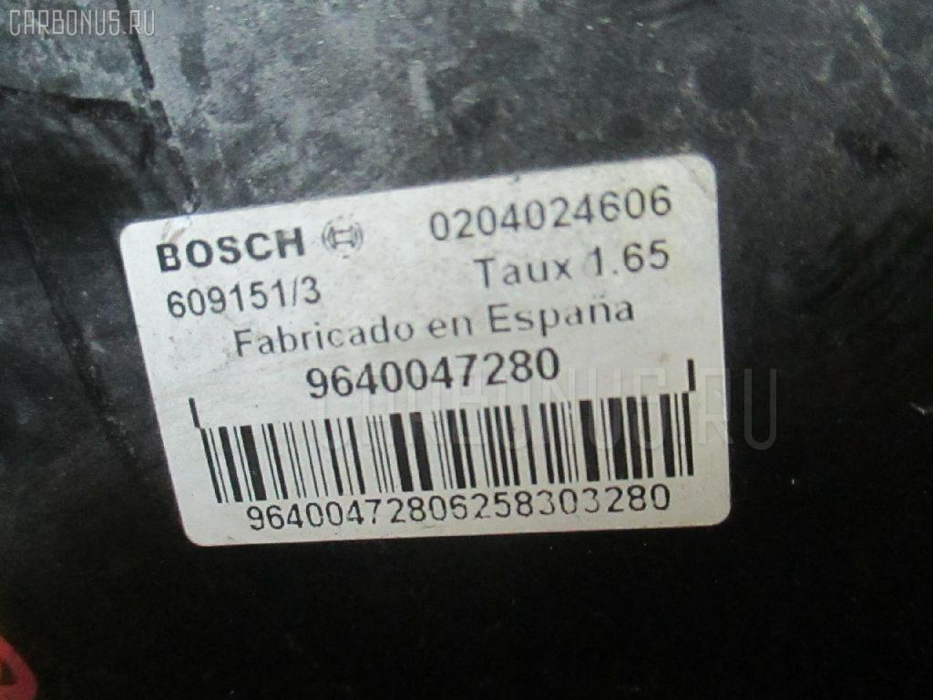 Главный тормозной цилиндр PEUGEOT 307 3CNFU NFU-TU5JP4 Фото 3
