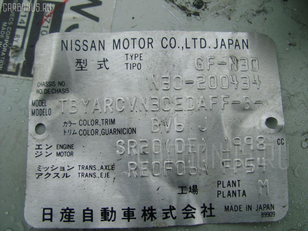 Двигатель NISSAN RNESSA N30 SR20DE. Фото 3