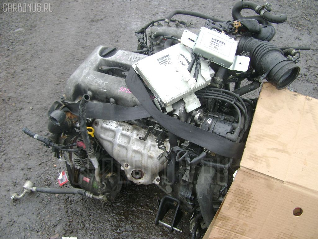 Двигатель NISSAN RNESSA N30 SR20DE. Фото 7