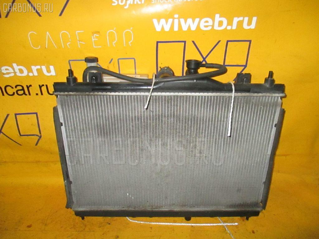 Радиатор ДВС NISSAN WINGROAD Y12 HR15DE. Фото 7