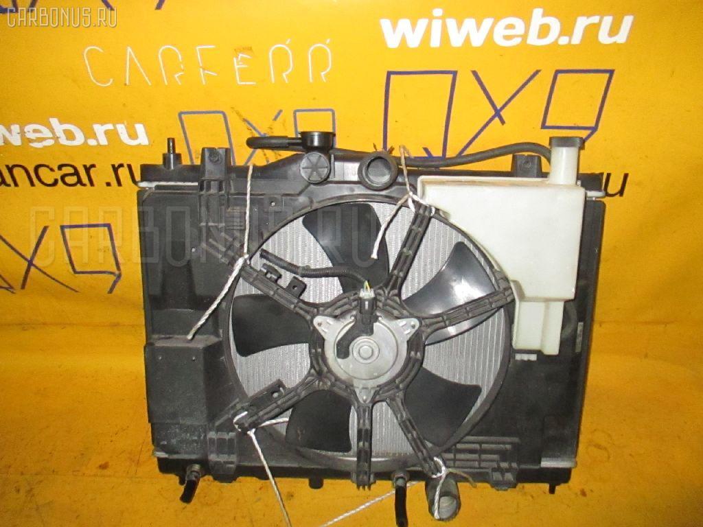 Радиатор ДВС NISSAN WINGROAD Y12 HR15DE. Фото 8