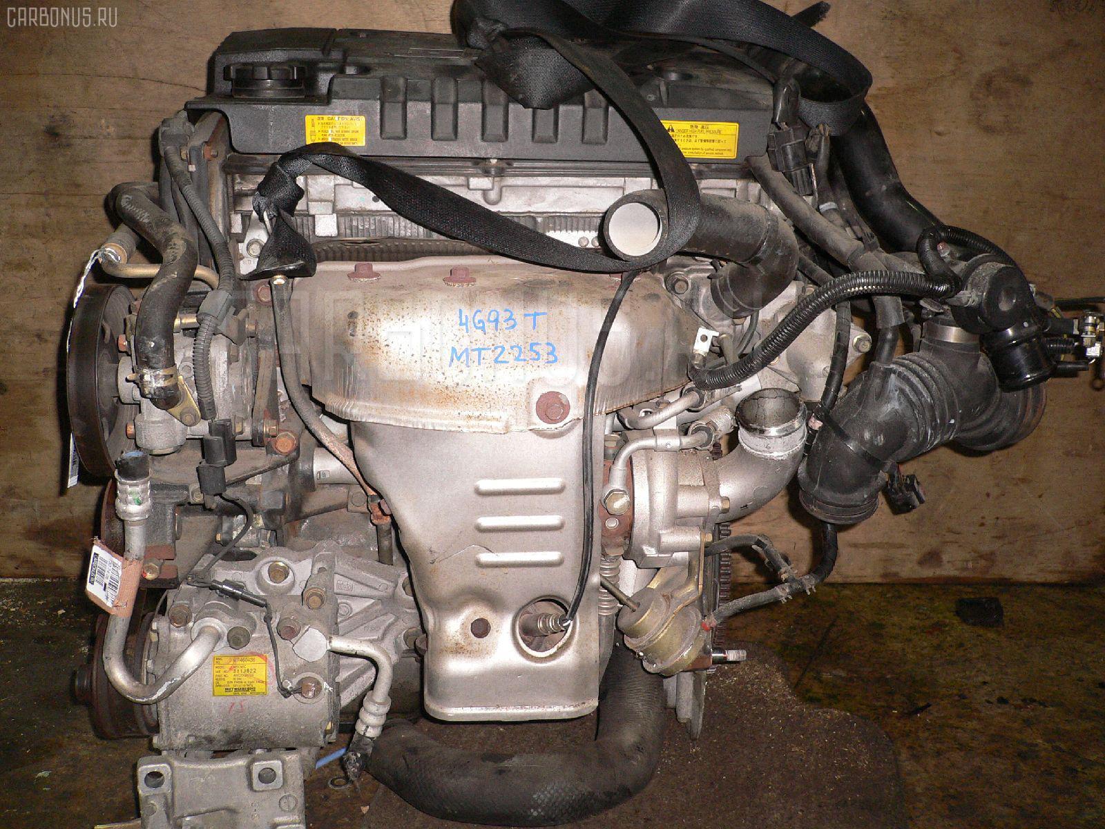 Двигатель MITSUBISHI LANCER CEDIA WAGON CS5W 4G93T Фото 5