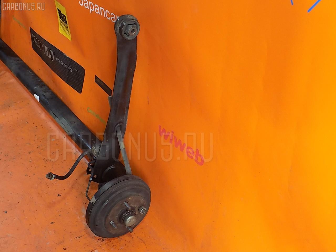 Балка подвески TOYOTA TERCEL EL51 4E-FE. Фото 9