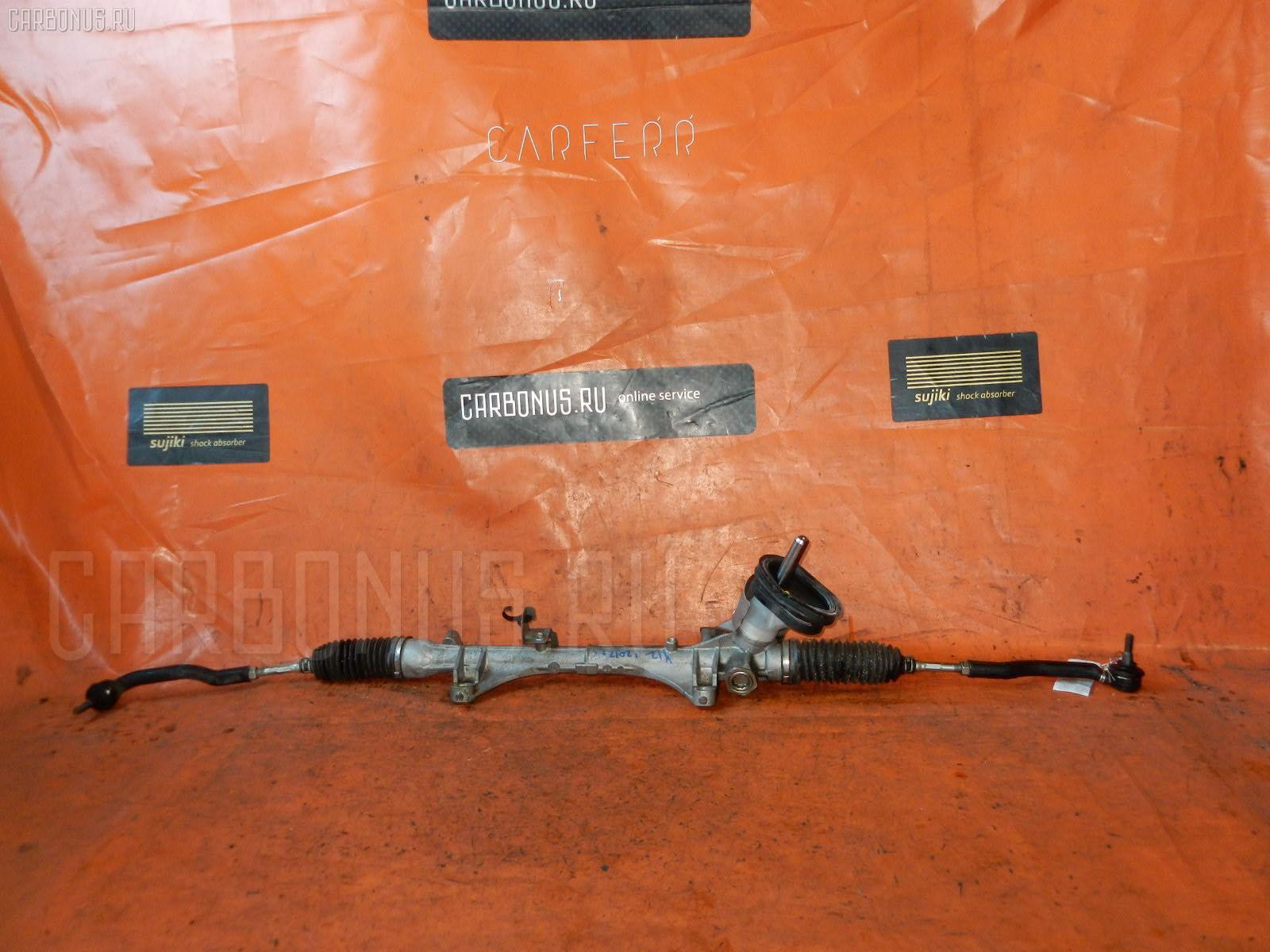 Рулевая рейка NISSAN WINGROAD Y12 HR15-DE. Фото 6