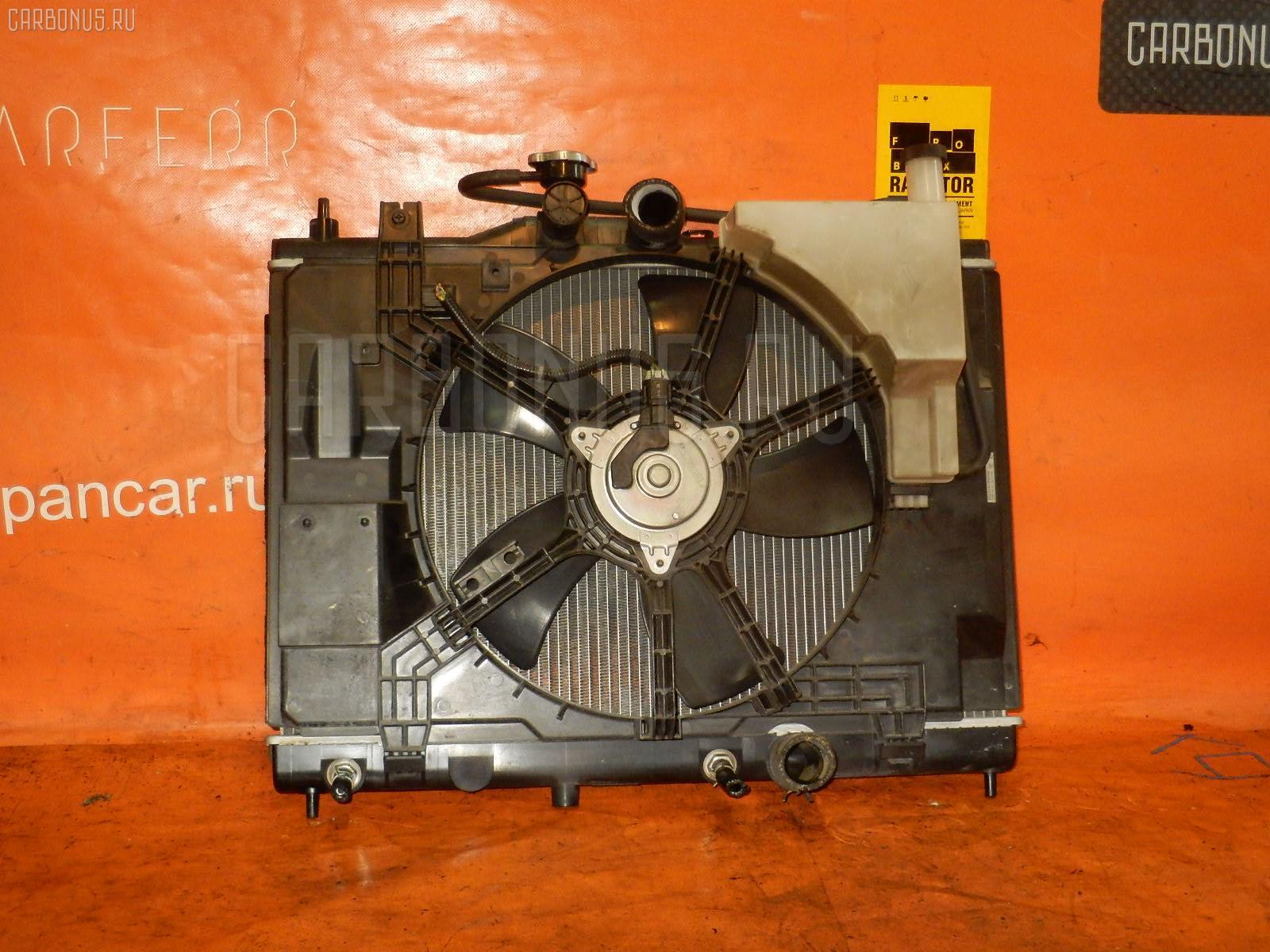 Радиатор ДВС NISSAN WINGROAD Y12 HR15DE. Фото 9
