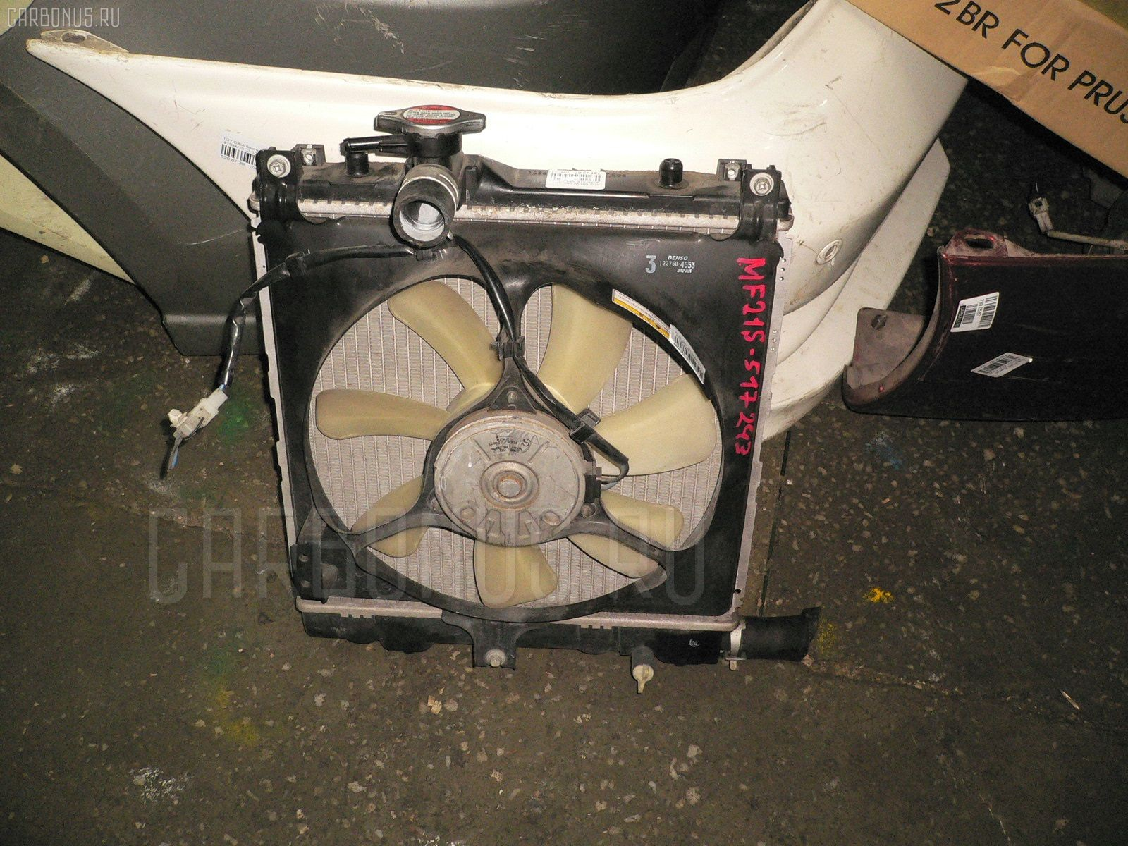Радиатор ДВС Suzuki Mr wagon MF21S K6A-T Фото 1