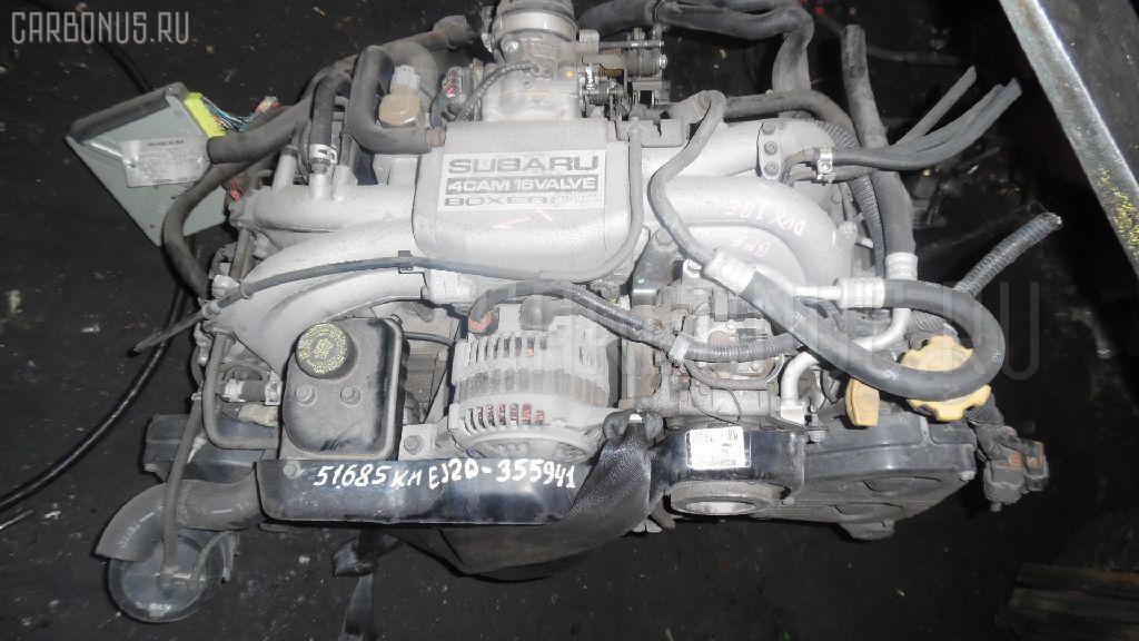 Двигатель SUBARU LEGACY WAGON BF5 EJ20DDX1BE Фото 3