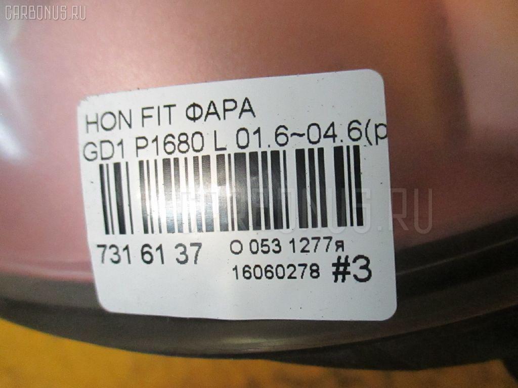 Фара HONDA FIT GD1 Фото 5