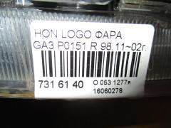 Фара Honda Logo GA3 Фото 3