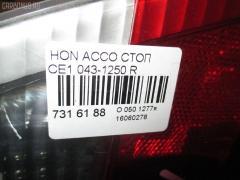 Стоп Honda Accord wagon CE1 Фото 4