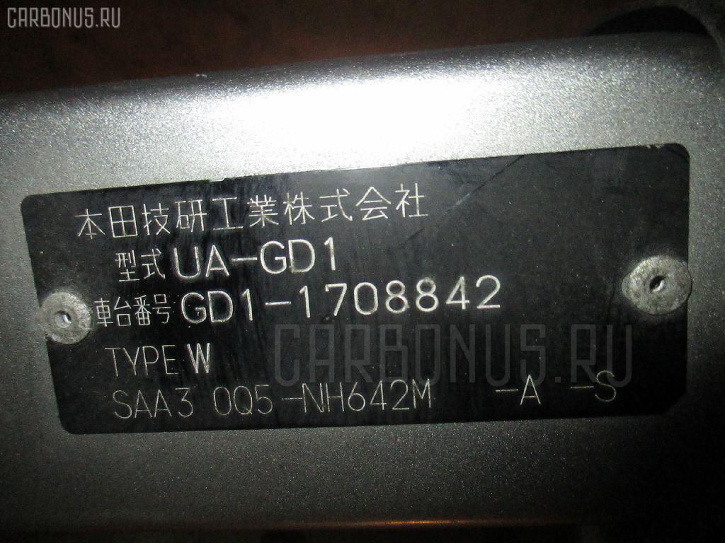 Телевизор HONDA FIT GD1 L13A. Фото 11