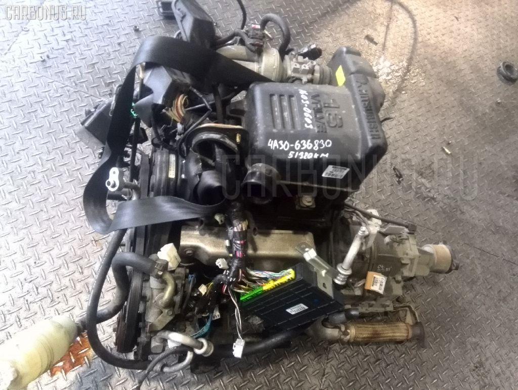 Двигатель MITSUBISHI PAJERO MINI H53A 4A30 Фото 7