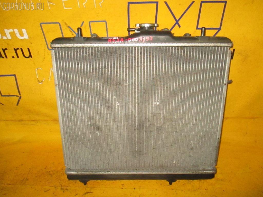 Радиатор ДВС MITSUBISHI PAJERO MINI H53A 4A30. Фото 11