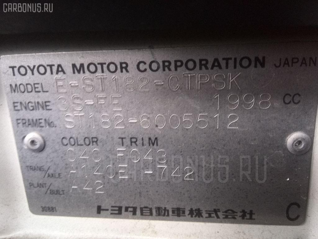 Двигатель TOYOTA CARINA ED ST182 3S-FE Фото 11