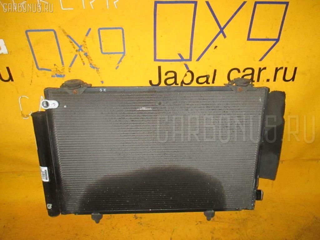 Радиатор кондиционера TOYOTA PROBOX NCP50V 2NZ-FE. Фото 7