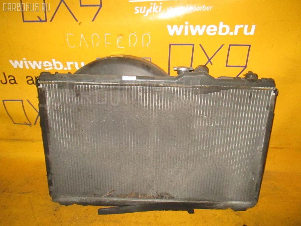 Радиатор ДВС TOYOTA CRESTA JZX100 1JZ-GE. Фото 9