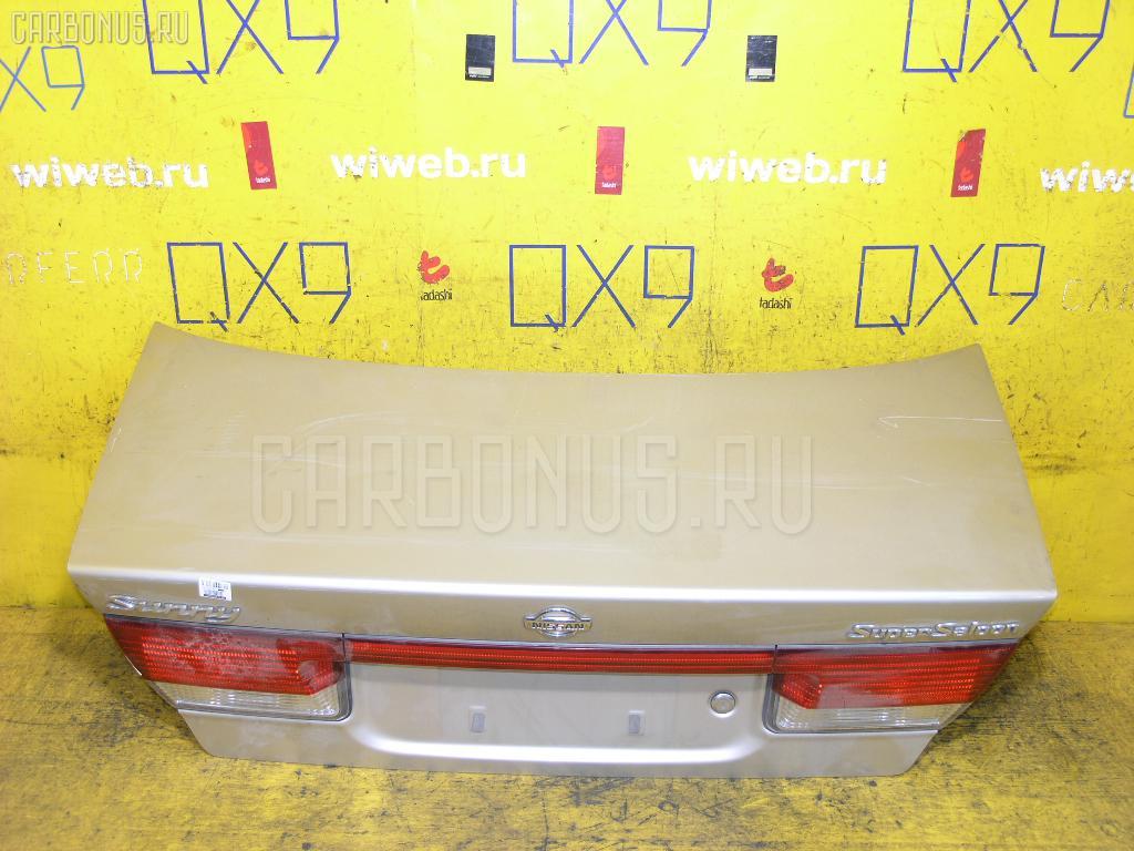Крышка багажника NISSAN SUNNY FB15 Фото 1
