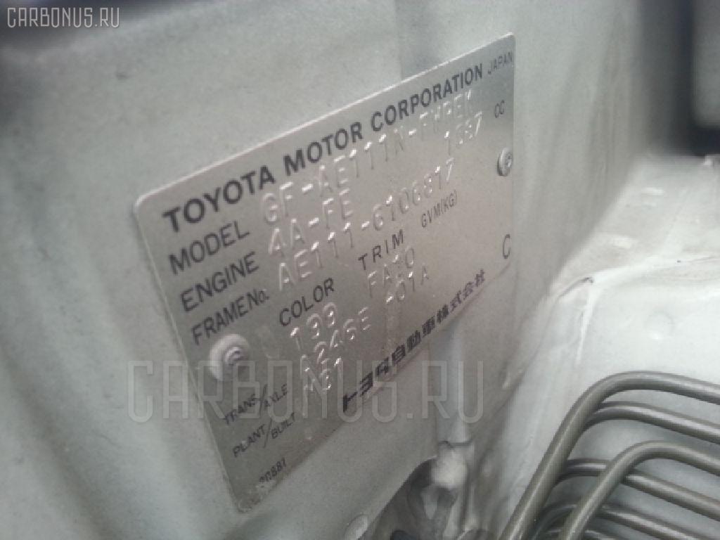 Блок управления климатконтроля TOYOTA COROLLA SPACIO AE111N 4A-FE Фото 3
