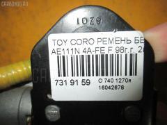 Ремень безопасности Toyota Corolla spacio AE111N 4A-FE Фото 8