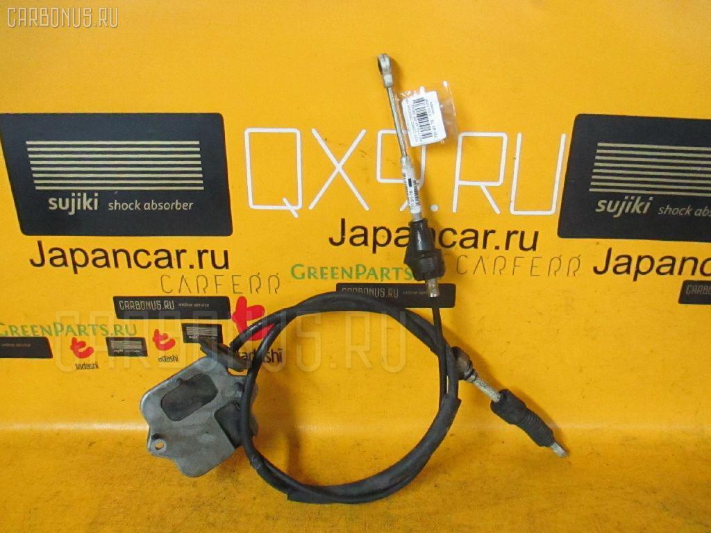 Тросик на коробку передач TOYOTA COROLLA SPACIO AE111N 4A-FE. Фото 5